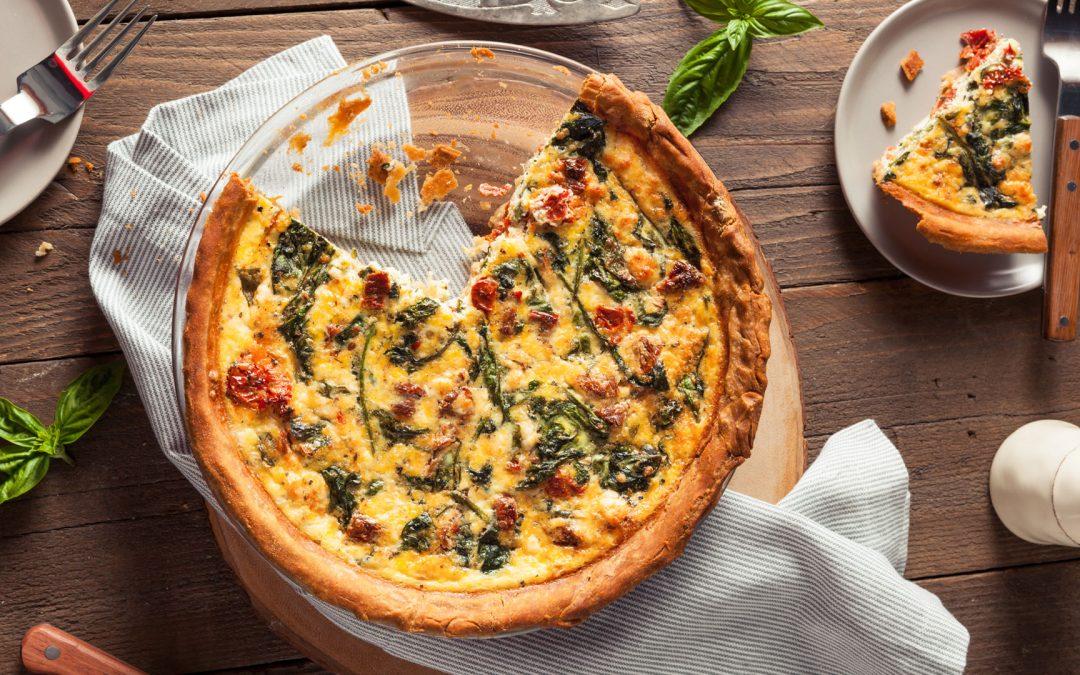 Simple boat cooking – GF Chilli crab & veg tart