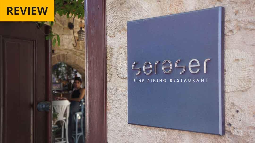 Seraser, Antalya's fine dining restaurant